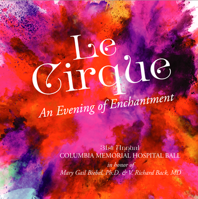 Save the Date for the Le Circque Hospital Ball. June 1, 2019